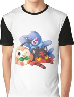 Sun and Moon Starters Graphic T-Shirt