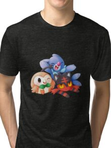 Sun and Moon Starters Tri-blend T-Shirt