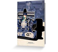 Francois Cevert - F1 1973 Greeting Card