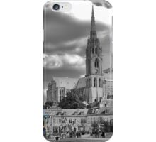 Chartres Cathedral ( 6 ) with Carousel iPhone Case/Skin