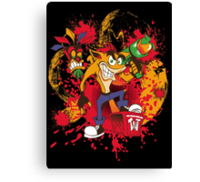 Bad-A Bandicoot Canvas Print