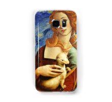 Venus with a Ermine in a Starry Night Samsung Galaxy Case/Skin