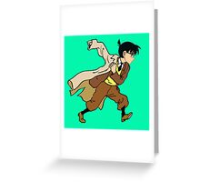 detective conan Greeting Card