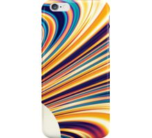 Color and Form Abstract - Solar Gravity and Magnetism 5 iPhone Case/Skin
