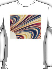 Color and Form Abstract - Solar Gravity and Magnetism 5 T-Shirt