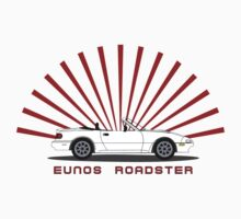 Eunos Roadster T Shirt by 3pedaldriving