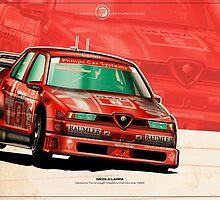 Nicola Larini - DTM 1993 by Evan DeCiren