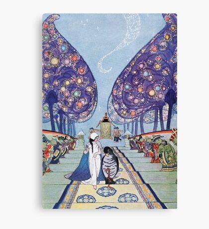 Stories by Mrs Molesworth Canvas Print