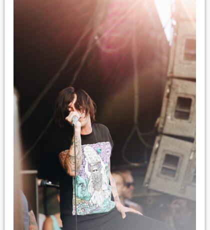 Kellin Quinn Warped Tour Sticker
