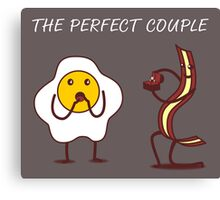 The perfect couple Canvas Print