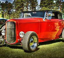 Red Ragtop by George Lenz