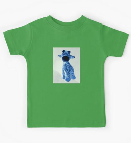 Blue Giraffe Kids Tee