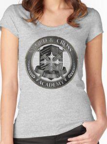 Fallen-Sword&Cross Academy Women's Fitted Scoop T-Shirt