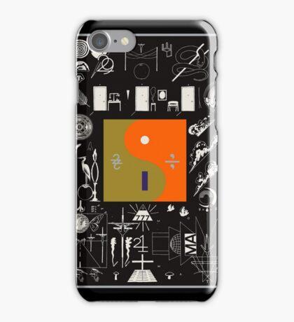 Bon Iver - 22, A Million Album Artwork Cover iPhone Case/Skin