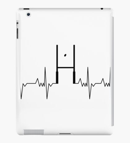 Heart of a Rugby Player iPad Case/Skin