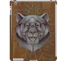 bear animal totem iPad Case/Skin