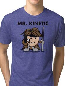 Mr. Kinetic Tri-blend T-Shirt