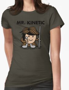 Mr. Kinetic Womens Fitted T-Shirt