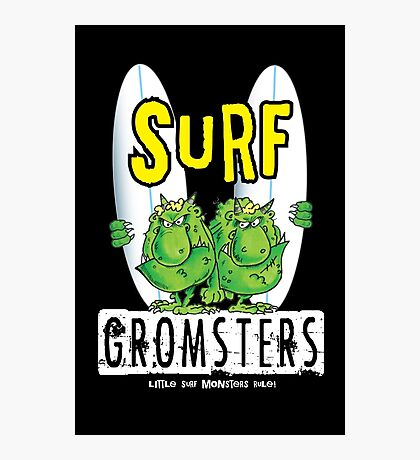 Surf Gromsters V1 Photographic Print