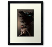 I am no man Framed Print