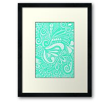 Pop Mint Framed Print