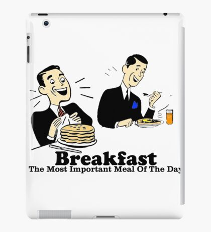 Breakfast iPad Case/Skin