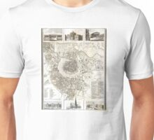 Plan of Vienna - 1844 Unisex T-Shirt
