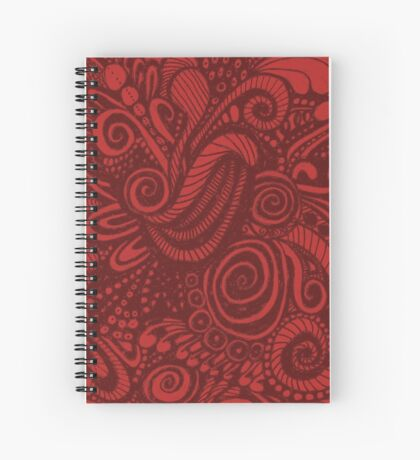 Ruby Universe Spiral Notebook