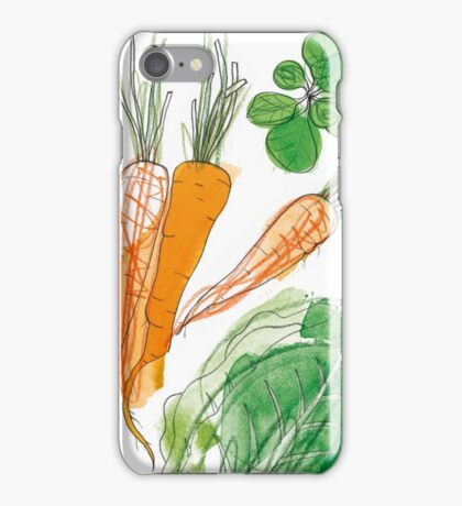 Eat your Carrots! iPhone Case/Skin