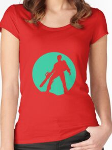 evil Women's Fitted Scoop T-Shirt