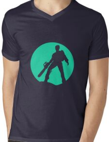 evil Mens V-Neck T-Shirt