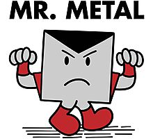 Mr. Metal Photographic Print