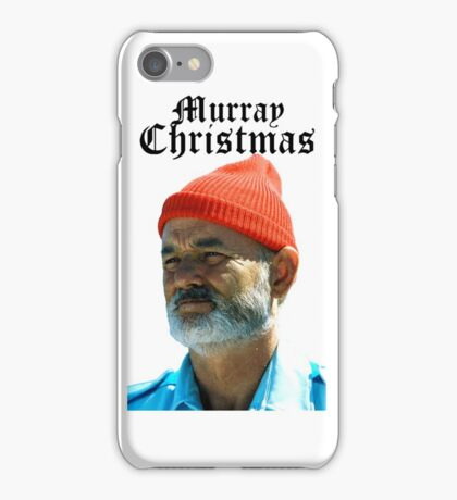 Murray Christmas - Bill Murray  iPhone Case/Skin