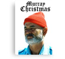 Murray Christmas - Bill Murray  Canvas Print