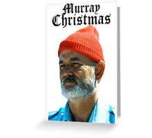 Murray Christmas - Bill Murray  Greeting Card