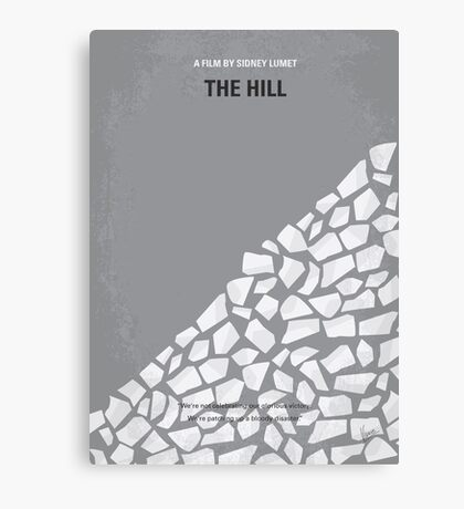 No091 My The Hill minimal movie poster Canvas Print