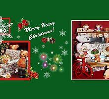 Christmas in the Burrow (mug) by Nadya Johnson