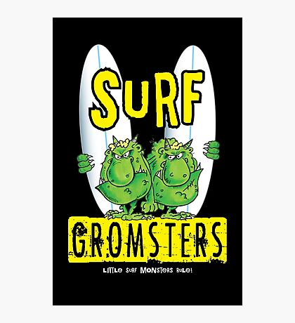 Surf Gromsters V3 Photographic Print