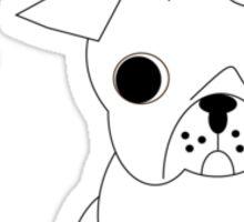 Fancy Pug Sticker