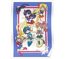 Little Sailor Scouts Print Poster