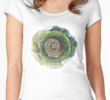 Garden Planet Women's Fitted Scoop T-Shirt