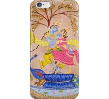 Krshna-Radha Eternal Love iPhone Case/Skin
