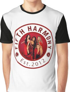 FIFTH HARMONY CIRCLE RED PHOTOSHOOT Graphic T-Shirt