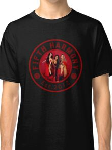 FIFTH HARMONY CIRCLE RED PHOTOSHOOT Classic T-Shirt