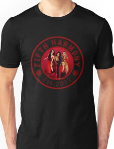 FIFTH HARMONY CIRCLE RED PHOTOSHOOT Unisex T-Shirt