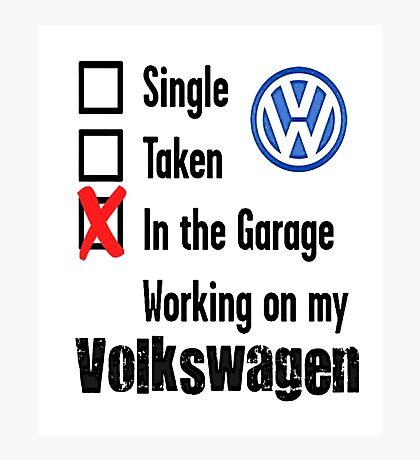 VW Relationship Photographic Print