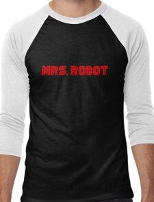 Mrs (miss) Robot Men's Baseball ¾ T-Shirt