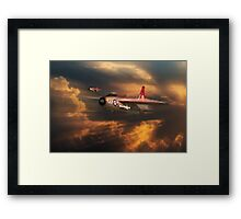 The Firebirds Framed Print