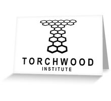 torchwood institute Greeting Card
