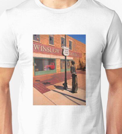 Standing on the Corner Glen Frey Tribute  Unisex T-Shirt